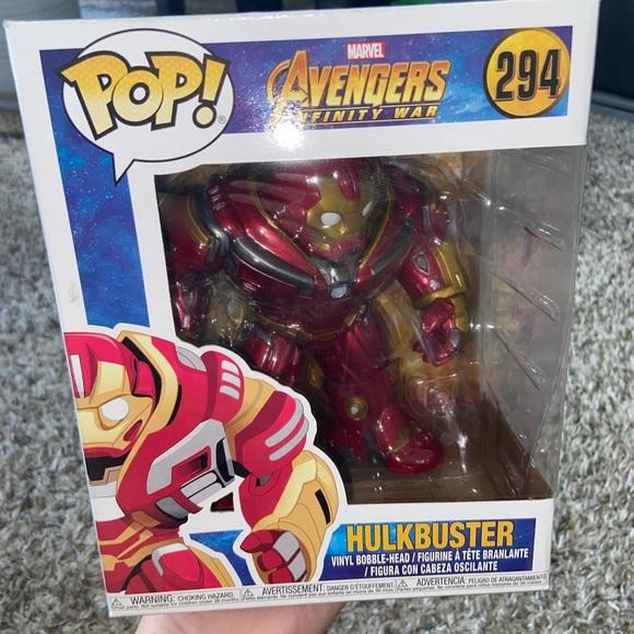 Pop Funko  Hulkbuster Avengers Infinity War 294